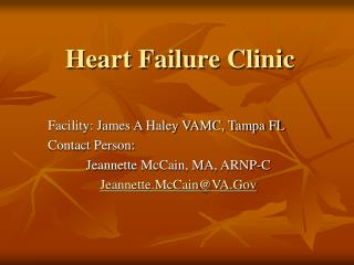 Heart Failure Clinic