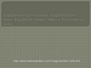 Egg Donor Program in India