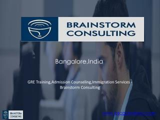 GRE Coaching in Bangalore