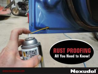 Rust Proof Wax Coating Products - All You Need to Know!