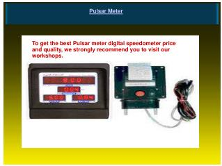 Pulsar Meter