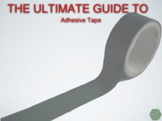 A Unique Guide To Packing Tape