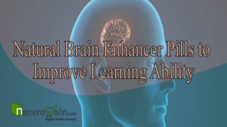 Natural brain enhancer pills to improve learning ability