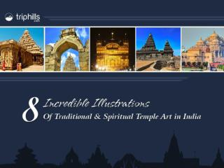 8 Incredible Illustration of Temple Art in India