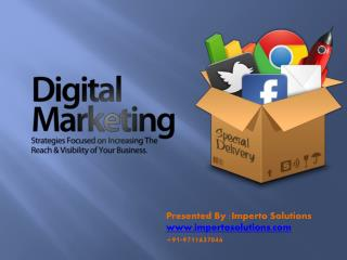 PPT on Digital Marketing