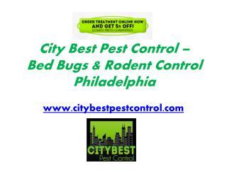 Rodent Control Philadelphia - www.citybestpestcontrol.com