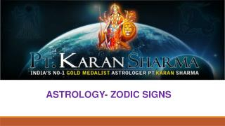 Astrology zodiac sign by karan sharma