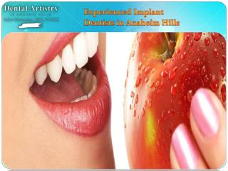 Experienced Dentist in Anaheim Hills