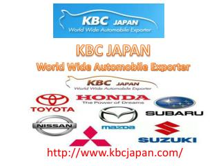 The leading automobile Exporter based in Japan with head off