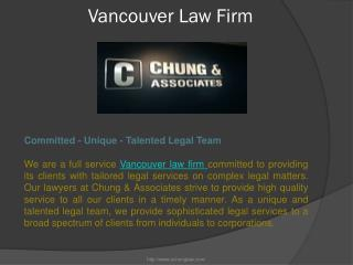 Vancouver law firm