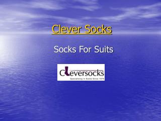socks for suits