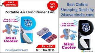 Portable Hand Held USB Cooling AC Fan