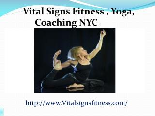 Yoga NYC Upper East Side - Vital Signs Fitness