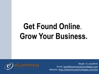 Get found online by seo  Hire Our Seo Expert