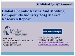 Global Phenolic Resins and Molding Compounds Industry 2015 M