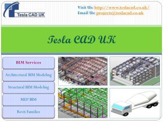 Tesla CAD UK - renowned BIM Services provider in UK