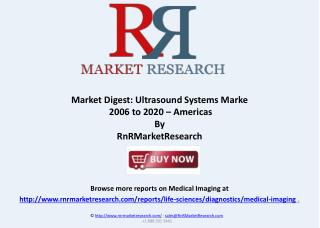 Ultrasound Systems Market Report 2006 to 2020 in Americas