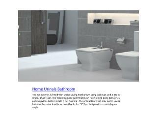 home urinals bathroom