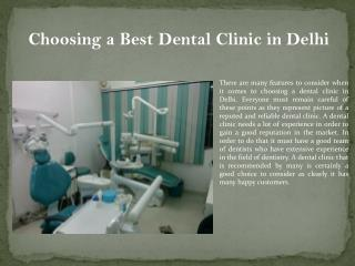 Dental clinic in delhi, best dentist in delhi.