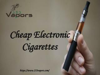 Cheap Electronic Cigarettes