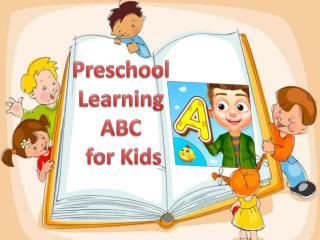Preschool Learning ABC for Kids