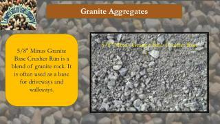 Granite Aggregates