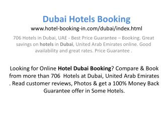 Dubai Hotels : Dubai Hotels, Book Cheap & Discount Hotels