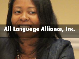All language Alliance, Inc - Certified Translation and Legal