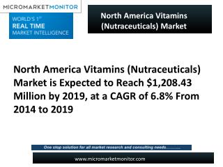 North America Vitamins (Nutraceuticals) Market