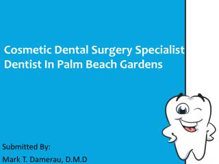 Cosmetic Dental Surgery Specialist Dentist In Palm Beach Gar