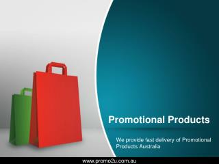 Promotional Products Melbourne