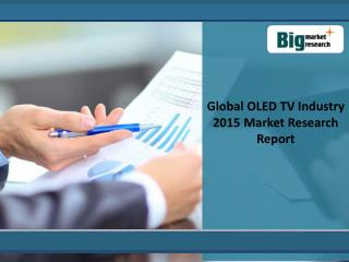 2015 Global OLED TV Industry:Market Research Report