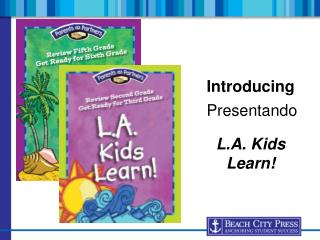 Introducing L.A. Kids Learn!