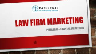 Law Firm Marketing services - Pathlegal
