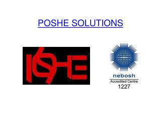 NEBOSH Course in Chennai - POSHE
