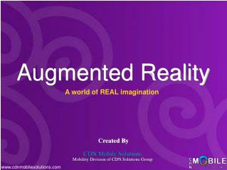 Augmented Reality And Augmented Reality Applications