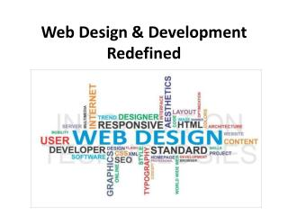 Web Design & Development Redefined