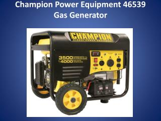 Champion Portable Generator Review