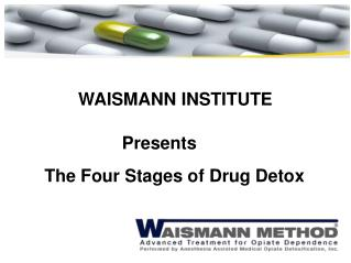The Four Stages of Drug Detox