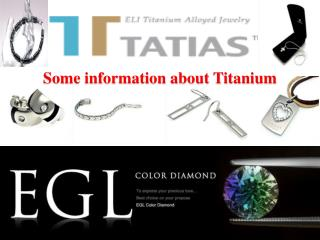 Some information about titanium