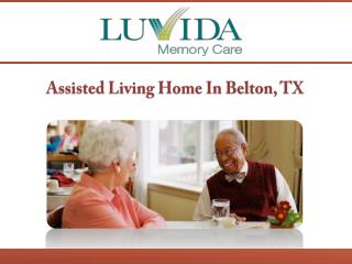 Assisted Living Home In Belton, TX