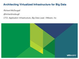 Architecting Virtualized Infrastructure for Big Data