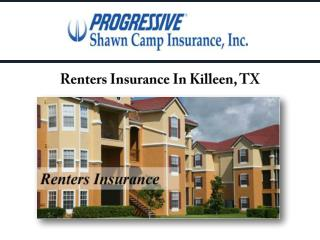 Renters Insurance In Killeen, TX