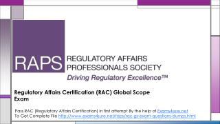 10 Technique to pass the Requlatory Affairs Certification