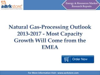 Aarkstore - Natural Gas-Processing Outlook 2013-2017