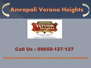 Amrapali Verona Heights at Noida Extension