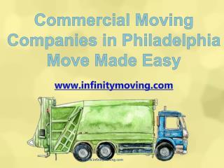 Commercial Moving Companies Philadelphia