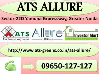 ATS Allure 2 and 3 BHK Flats