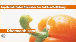 Top Rated Herbal Remedies For Calcium Deficiency