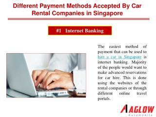 Different payment methods accepted by car rental companies i
